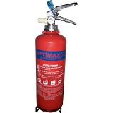 OPTIMAX Fire Extinguisher ABC Dry Chemical Powder (Store Pressure) DC-2